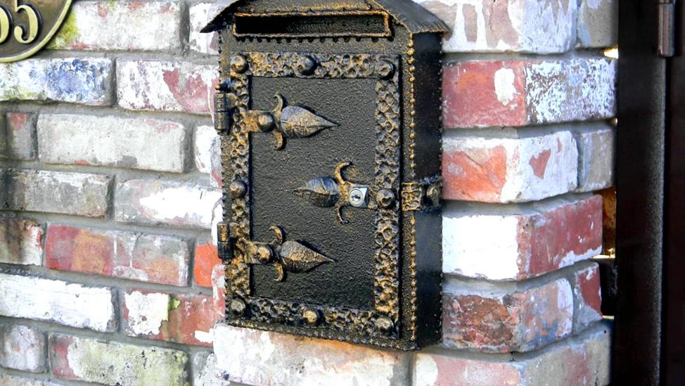 Уличный почтовый ящик своими руками: как сделать из картона, пластика, металла, фанеры