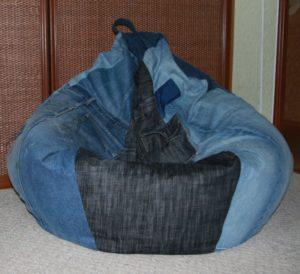 Кресло-мешок: как сшить своими руками и чем наполнить