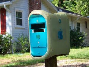 Почтовый ящик из подручных средств своими руками