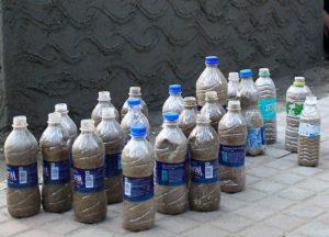 Грядки из пластиковых бутылок своими руками: вертикальные, высокие, теплые