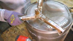 Как сделать мангал из барабана стиральной машины