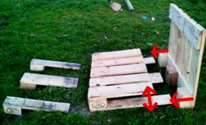 Как сделать лавочку из поддонов своими руками: схемы, пошагово