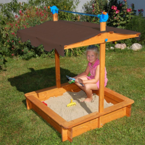 Как сделать детскую песочницу своими руками: чертежи, фотографии