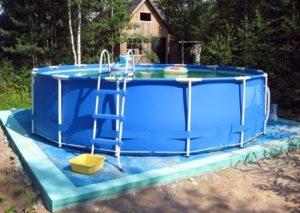 Основание под каркасный бассейн своими руками: как выровнять, подготовить