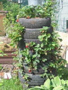 Как сделать грядки из шин для сада и огорода своими руками