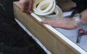 Как сделать песочницу в виде машинки своими руками