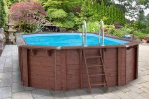 Как сделать бассейн из дерева на даче своими руками