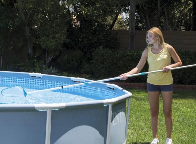 Как очистить надувной бассейн своими руками