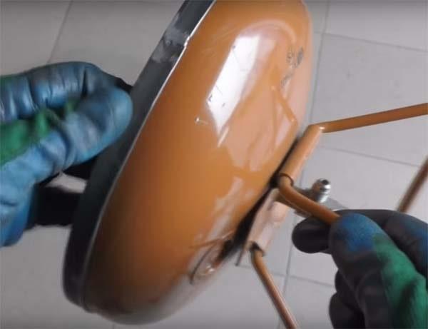 Как сделать коптильню из баллона от фреона своими руками