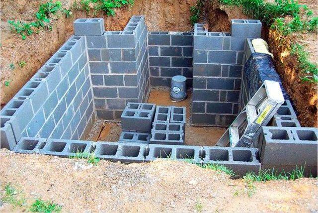 Как построить полузаглубленный погреб на даче своими руками