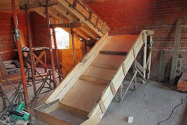 Как сделать лестницу в погреб своими руками: чертежи, варианты, фото