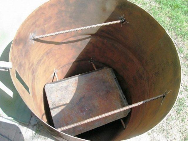 Как сделать коптилку холодного, горячего копчения из трубы своими руками