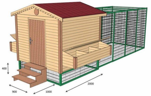 Как построить теплый курятник для кур на зиму своими руками