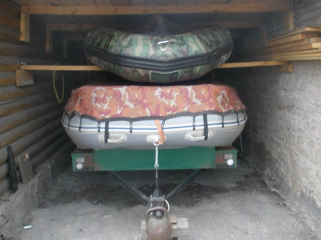 Хранение лодки зимой, летом: из ПВХ, резиновой, алюминиевой, моторной