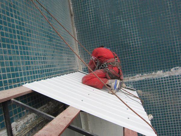 Как утеплить крышу на балконе последнего этажа