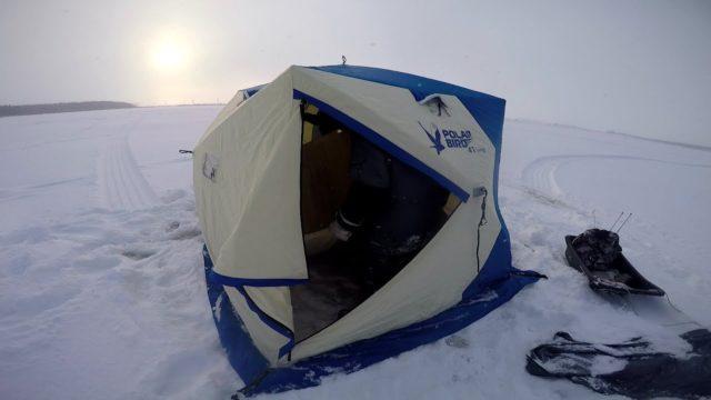 Утепление зимней палатки для рыбалки своими руками