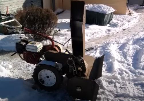 Как сделать снегоуборщик на мотоблок своими руками