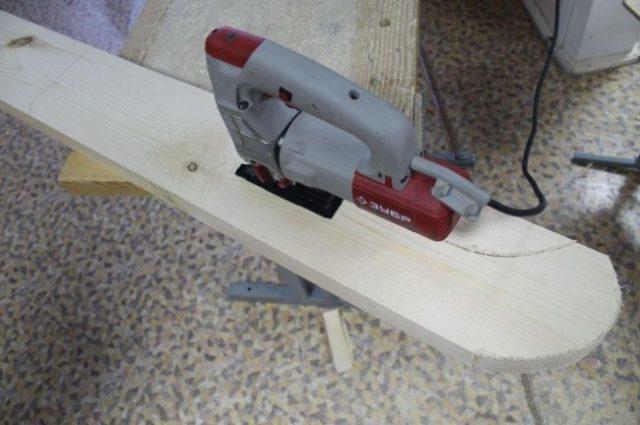Деревянные санки своими руками: как сделать, чертежи