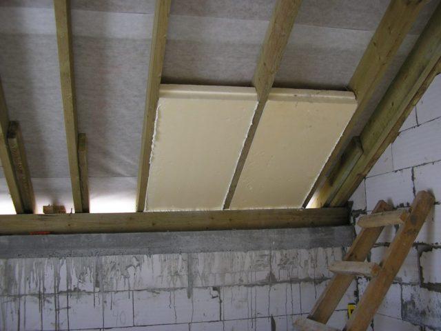 Чем и как утеплить крышу гаража снаружи и изнутри своими руками