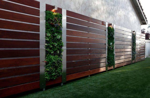 Забор из деревянного штакетника: чертежи, установка, фото, видео