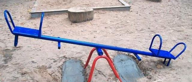 Как сделать качели-весы для детей, взрослых своими руками