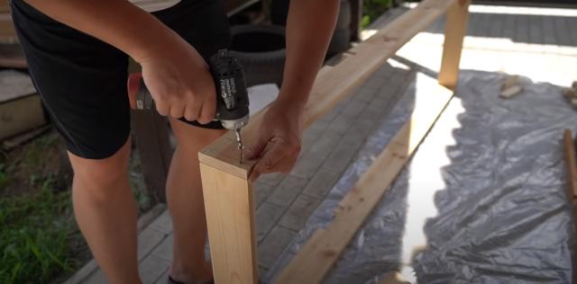 Шезлонг из поддонов: как сделать своими руками, пошаговая инструкция