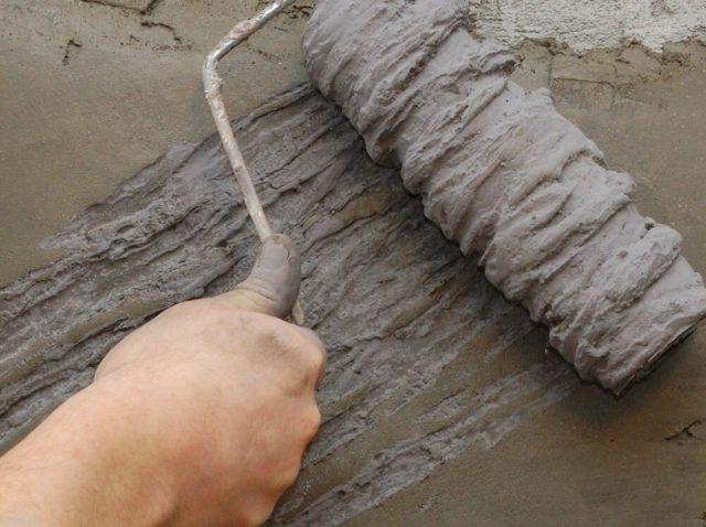 Как сделать валик для декоративной штукатурки своими руками
