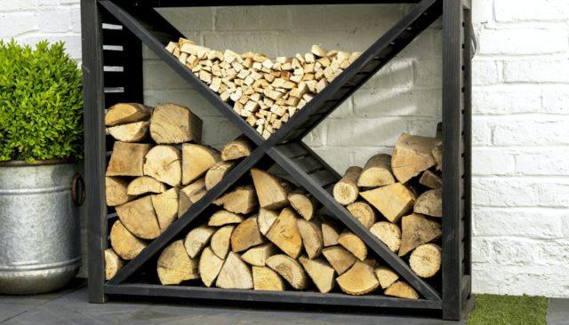 Как сделать навес для дров: из профильной трубы, поддонов, дерева