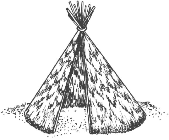 Как построить шалаш в лесу своими руками