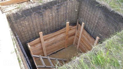 Погреб из бетона: как залить, сделать своими руками, пошагово, фото