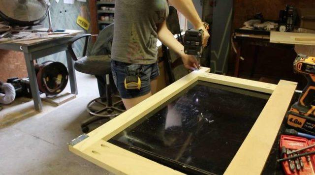 Верстак в гараж: как сделать своими руками из металла, профиля, дерева