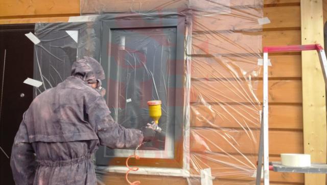Чем и как покрасить пластиковые окна в белый или другой цвет